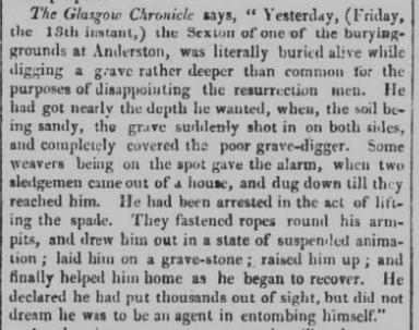 Public Ledger and Daily Advertiser - Thursday 19 December 1822